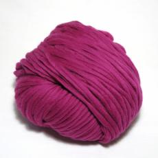 knit & hook - the bulky merino Strang - 905 Fuchsia