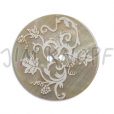JIM KNOPF - 48 Perlmut Agoya Laser Ornament