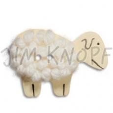 JIM KNOPF - 50 cocos Schaf mit Wolle - 02 Weiß