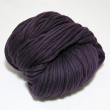 knit & hook - the bulky merino Strang - 904 Pflaume
