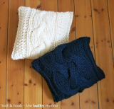 knit & hook - the bulky merino Strang - 907 Schwarzblau