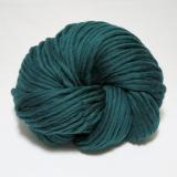 knit & hook - the bulky merino Strang - 909 Blaugün