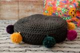 knit & hook - the bulky merino Strang - 910 Schiefer