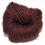 knit & hook - the bulky merino Strang - 913 Weinrot