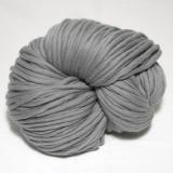 knit & hook - the bulky merino Strang - 919 Hellgrau