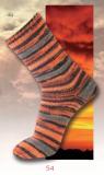 katia - STORM Sockengarn - 54 Orange-Grau
