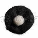 JIM KNOPF - 62 Filz Blume - 01 Schwarz-Weiß