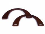 Taschengriffe aus Holz halbrund 9x20cm - Kirsche
