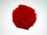 On line - Kunstfell-Pompon - 06 Rot