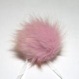 AheadHUNTER - Kunstfell-Pompon de Luxe - 25 Rosa
